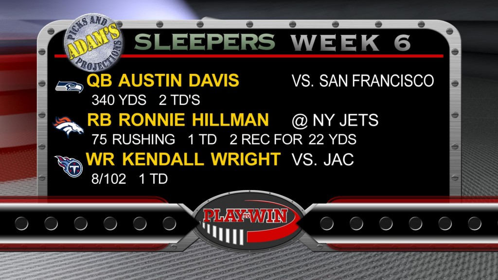 10-11 sleepers week6
