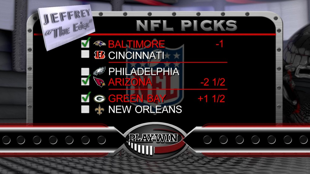 10-25 NFL picks