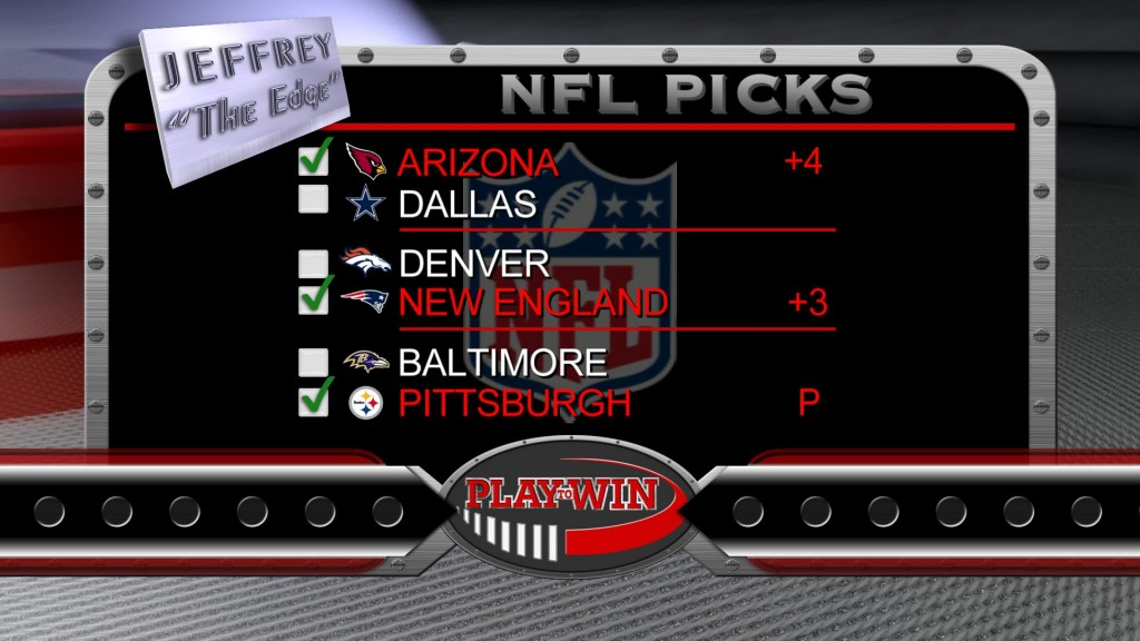 11-1 NFL picks