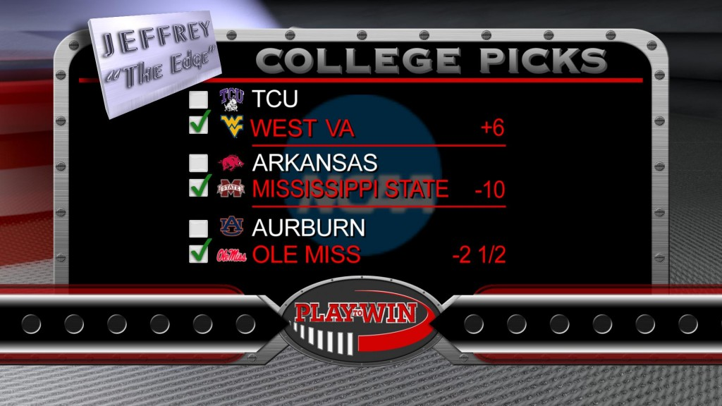 11-1 college picks