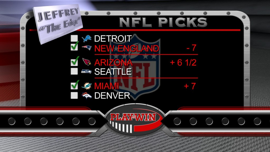 11-22 NFL PICKS