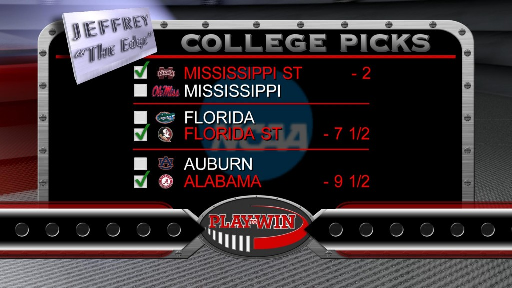 11-29 college picks