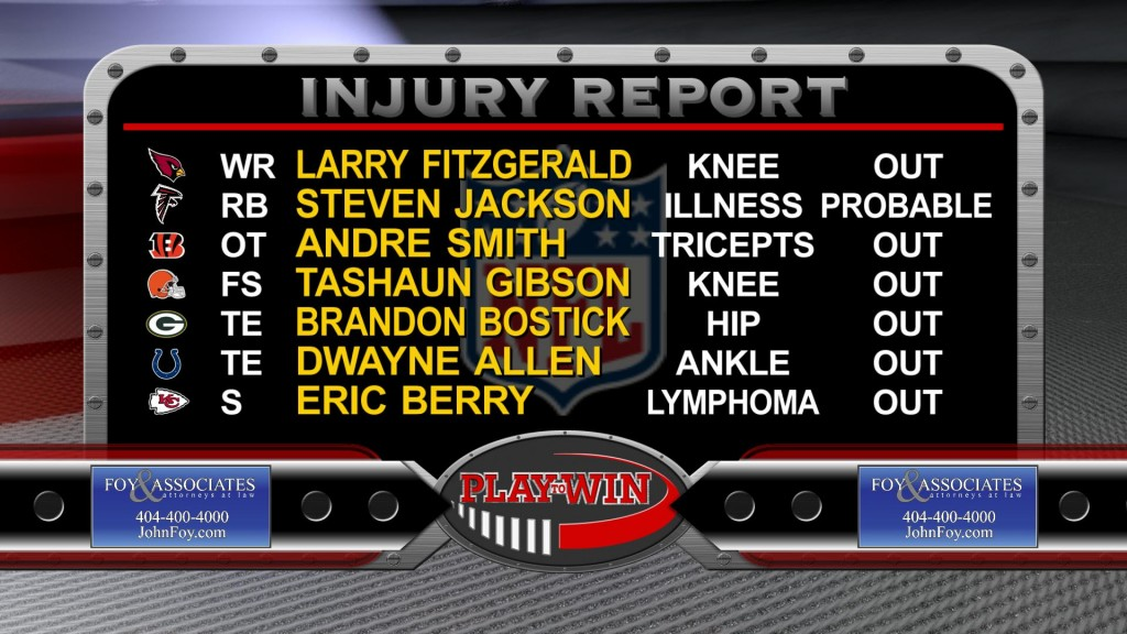 11-29 injury report