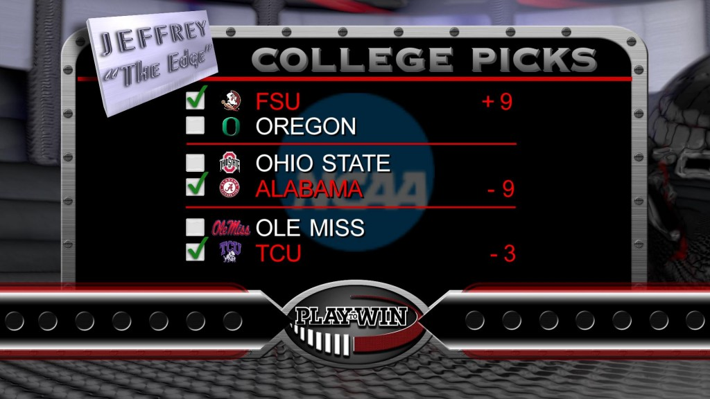 12-27 college picks