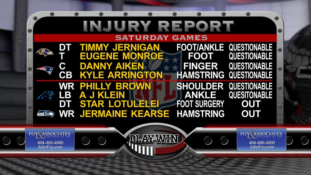 1-8 injury report