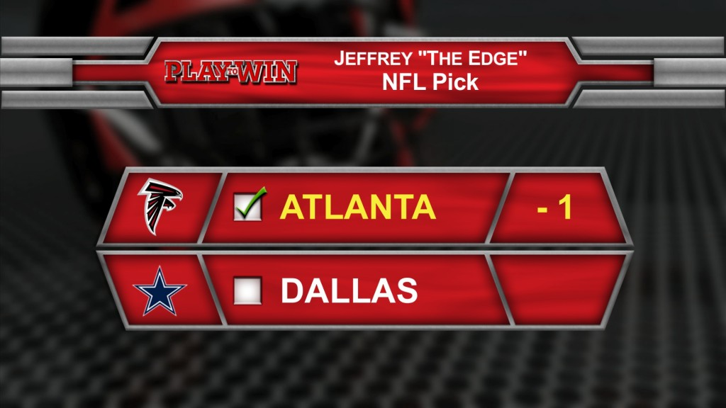 Jeff NFL pick