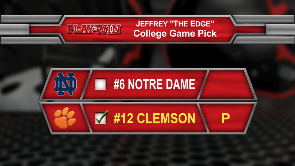 college game pick