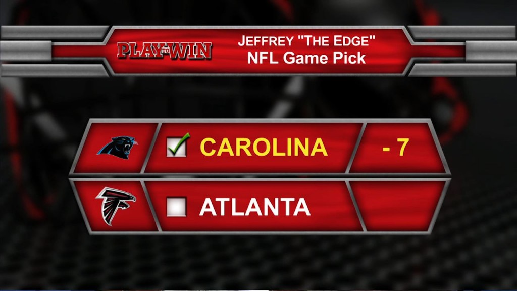 NFL Game pick
