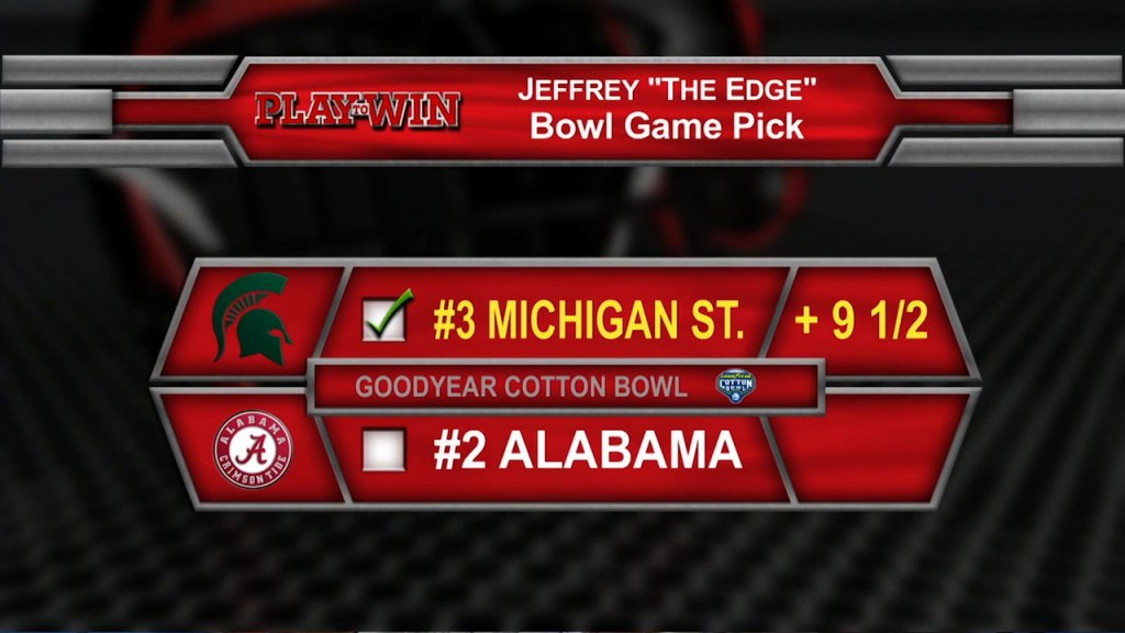 bowl game pick