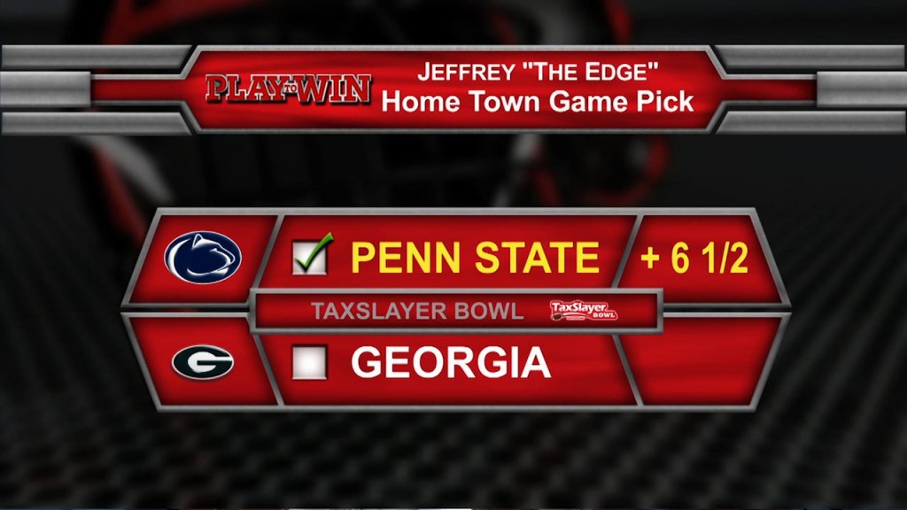 home town game pick