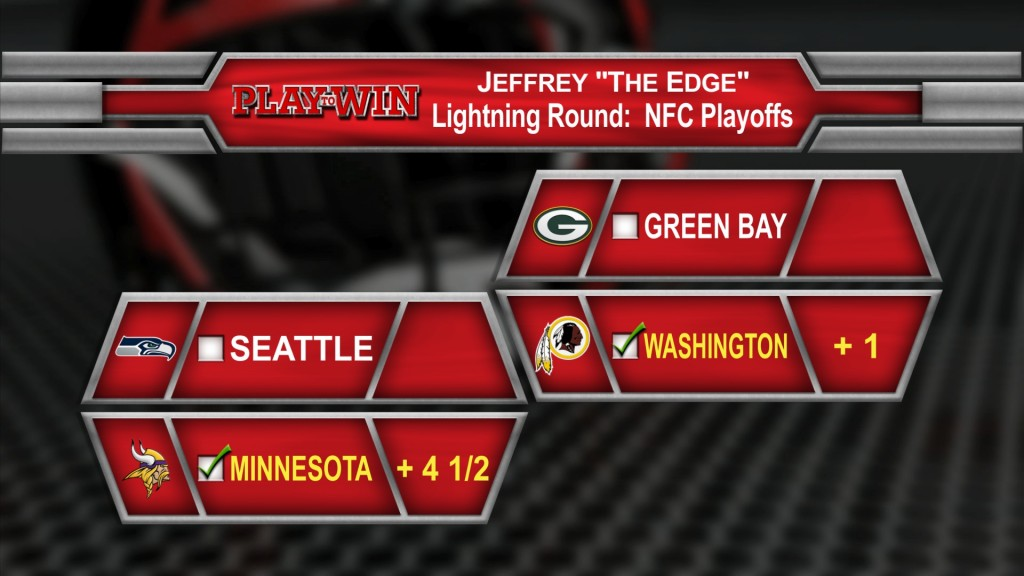 NFC playoff picks