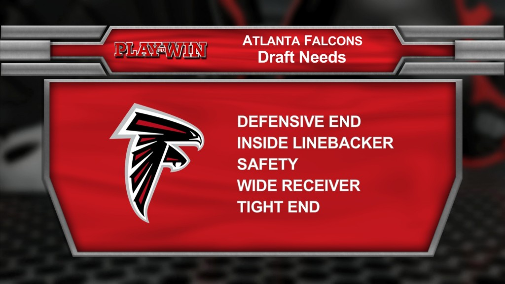 Falcons draft needs