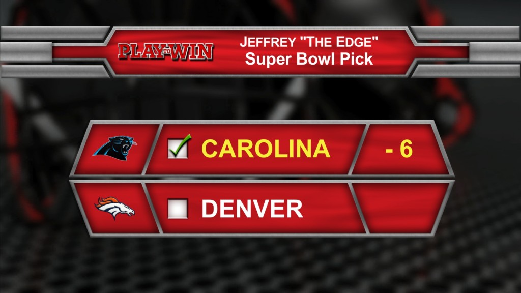 super bowl pick